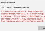 How To Fix VPN Error 800