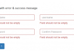 Simple Required Field Validation on jQuery