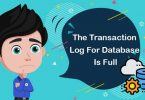 Query to reduce Transaction Log file size to just 1MB