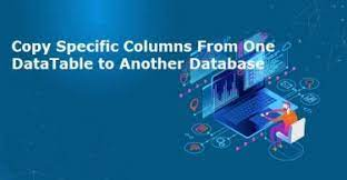 Copy specific columns from one DataTable to another C#
