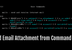 4 Ways to Send Email Attachment from Linux Command Line