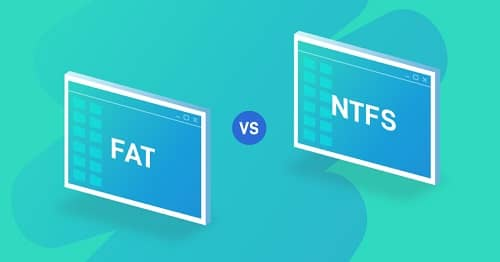 Difference Between FAT32 and NTFS File Systems