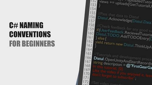Naming Convention for C# Projects